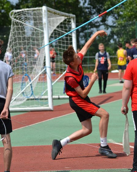 Action from the Suffolk School Games Festivals 2018. Picture: AMY KING
