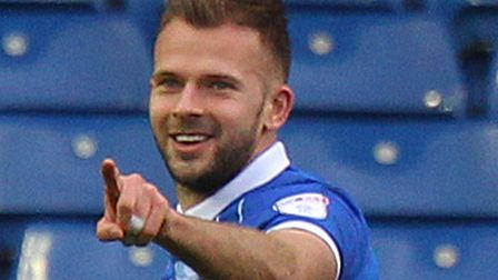 Jordan Rhodes is reportedly closing in on a Norwich City loan move Picture: Paul Chesterton/Focus I
