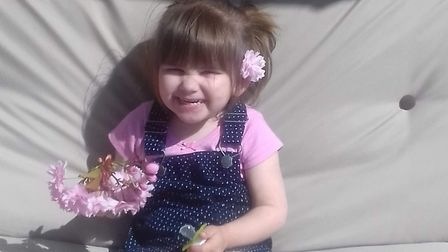 Ava-May Littleboy died after being thrown from an inflatable trampoline in Gorleston Picture: SUPPLI