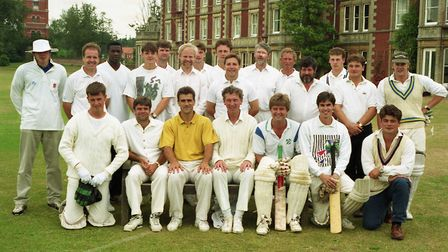 Ipswich Town cricket match against Orwell Park School in 1994 Picture: NICK STRUGNELL