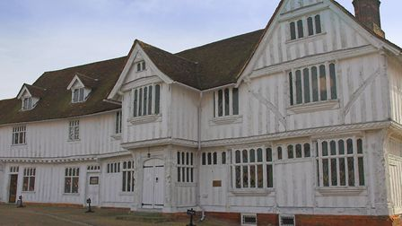 Lavenham Guildhall will host its Colours to Dye For weekend Picture: ARCHANT
