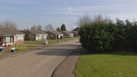 Godmans LAne, Markst Tey, where one of the fires was started Picture: GOOGLE