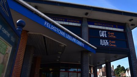 Felixstowe Leisure Centre has been eyed for �200,000 Picture: SARAH LUCY BROWN