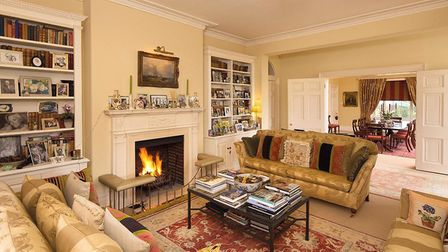 Inside Sutton Hall, at the centre of the estate, for sale. Pic: www.knightfrank.co.uk