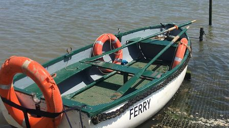 Butley ferry. Picture: SUE RUSACK