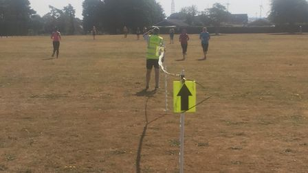 Getting lost is not a danger at the weekly Swaffham parkrun. The course is well-marked. Picture: CAR