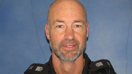 Stephen Vaughan who has been recognised at 10 Downing Street Picture: SUFFOLK CONSTABULARY