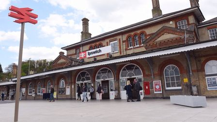 Ipswich train station Picture: SARAH LUCY BROWN