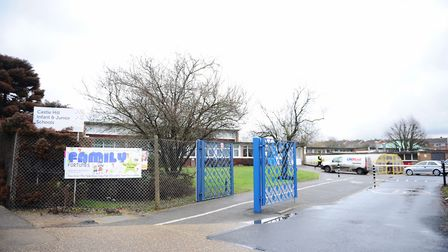 Castle Hill Infant and Junior Schools, Ipswich Picture: LUCY TAYLOR