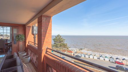 19 The Bartlet, on sale with Savills, with a guide price of �650,000, has a balcony and sea views Pi