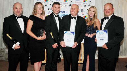 Business of the Year - Breheny Civil Engineering. Picture: DAVID GARRAD.