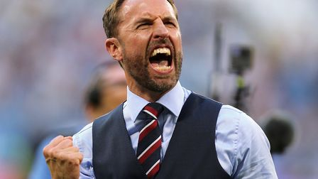 England manager Gareth Southgate has been a style icon for this World Cup Picture: OWEN HUMPHREYS/PA