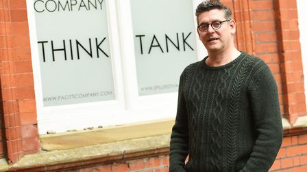 Portrait of Robert Pacitti outside the Think Tank. Photo: Gregg Brown