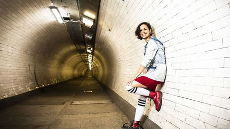 Busking It, by Danusia Samai, mixes music with tales from passing strangers encountered on the Lond