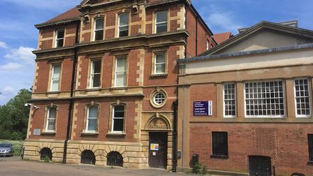 The former magistrates' court building in Bury St Edmunds is up for sale. Picture: CHRIS SHIMWELL