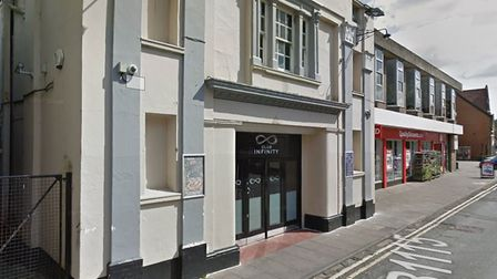 The incident happened at Club Infinity on Sudbury's East Street Picture: GOOGLE MAPS