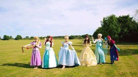 Eventopia's princesses will be at KidzFest this weekend. Picture: BECKY REYNOLDS