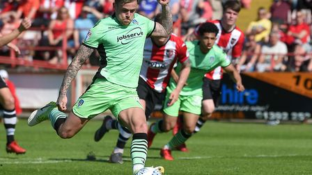 Sammie Szmodics, who came on in the second half and netted the U's third goal in a comfortable win a