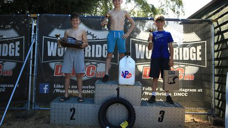 The Small Wheel winners at Blaxhall, Small Wheel Overall, first Wal Beaney, second Bayliss Utting, t