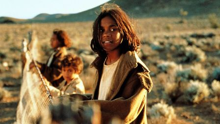 Rabbit Proof Fence tells the touching story of mixed race girls walking home across the outback afte