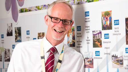 Dr Steve Dunn, chief executive of West Suffolk Hospital Picture: TOM SOPER PHOTOGRAPHY