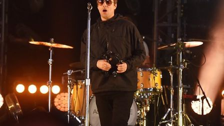 Liam Gallagher on the BBC Music Stage at Latitude 2018 Picture: NICK BUTCHER