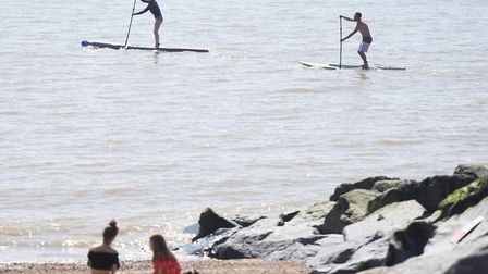 This year's hot weather is set to continue Picture: GREGG BROWN