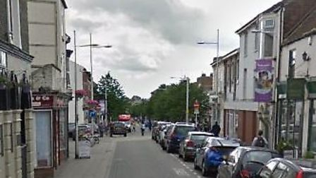 The robbery is alleged to have happened in London Road North, Lowestoft, Picture: GOOGLE