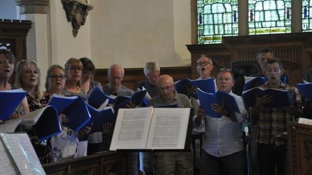 The choir will perform again in Wenhaston on Saturday Picture: PAT WALLACE