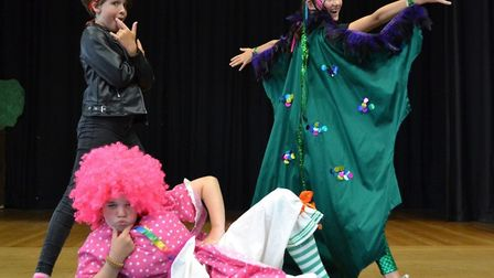 Sir Robert Hitcham's Primary School production of Dragon Days Picture: MOLLY MILLER