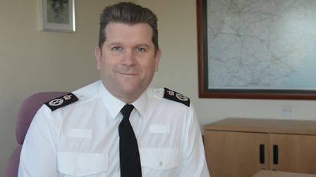 Chief Constable Gareth Wilson said the changes showed the force was listening to concerns Picture: