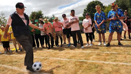 Care Uk Suffolk Sports Day at Mills Meadow, Framlingham Picture: LUCY TAYLOR