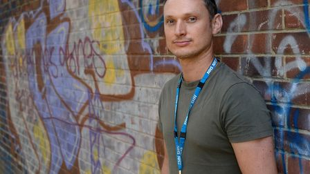 Jonathan Dickson, Senior Mental Health Practitioner with NSFT, who is leading a new project to impro