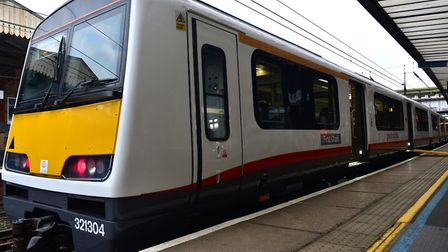 Newly refurbished train from Greater Anglia Picture: SARAH LUCY BROWN