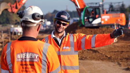 Breheny workers on-site