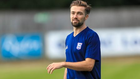Edwards joined the Blues for a fee of �700,000 from Peterborough. Picture: STEVE WALLER