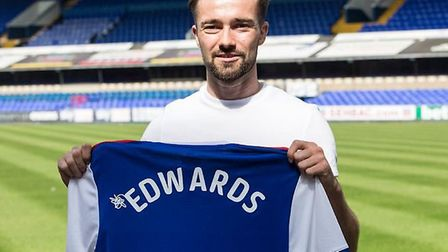 Now aged 25, Edwards believes the time is right for him to move to the Championship. Photo: ITFC