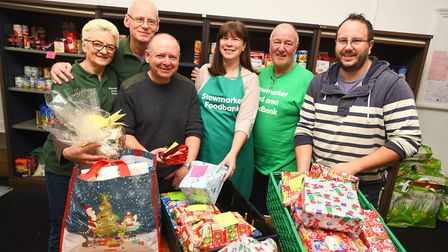 Christmas is the peak time for donations, bosses said. Left to right, Hazel Smith, Mike Smith, Nigel