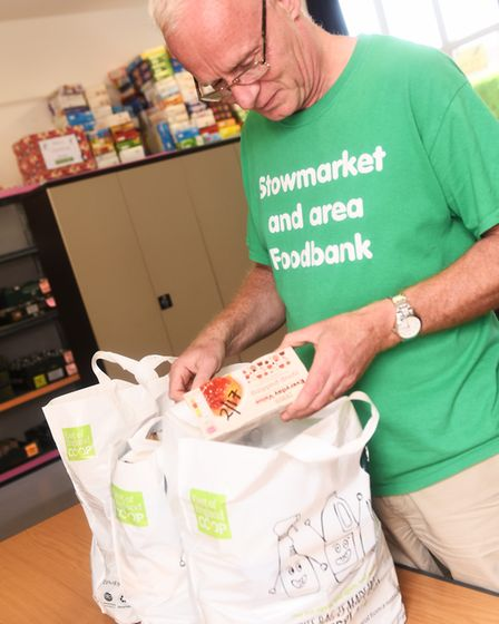 Stocks at the Stowmarket and area foodbank are at an all-time low Picture: LUCY TAYLOR