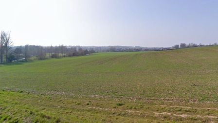 Clicket Hill, Bures Picture GOOGLE MAPS