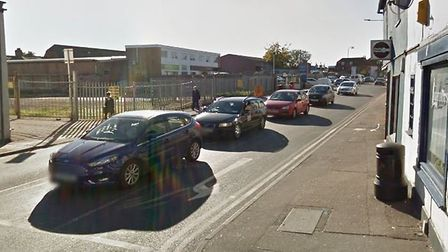 The collision happened ner the junction of Magdalen Road and Magdalen Gree in Colchester Picture: GO