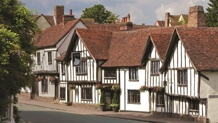 Lavenham is one of the top places to have a staycation Picture: NICK SMITH PHOTOGRAPHY