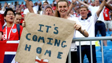 Is it really going to come home? It seems utterly staggering that England are on the verge of a Worl