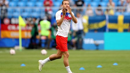 Skipper Harry Kane has been England's key man. Picture: PA SPORT