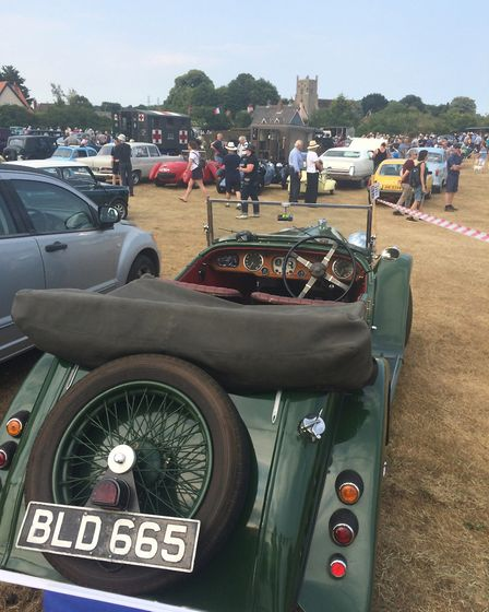 Hundreds of classic cars and vintage motorbikes attended the ninth Classics on the Green Picture: IA