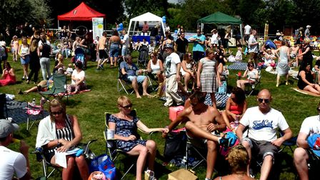 Glorious sunshine greeted visitors to Belle Vue Park in Sudbury for the 2016 Party in the Park event
