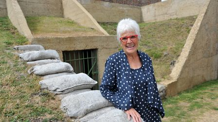 Mary Wain, founder of the Bawdsey Radar Trust Picture: SARAH LUCY BROWN