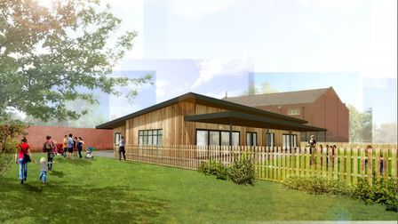 The new early years building at Framlingham College Prep School Picture: CONCERTUS