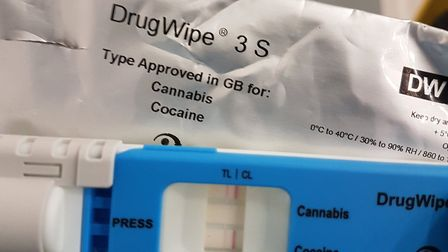 A driver was arrested on suspicion of drug driving and speeding on the A14 at Newmarket. Picture: NO
