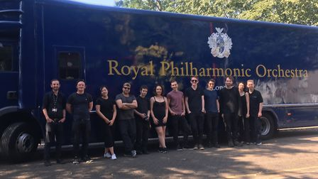 Students from the University of Suffolk at West Suffolk College enjoyed a unique masterclass with th